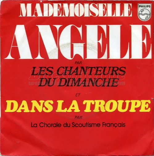 bc910c43260ee Mademoiselle Angèle (par Jacques Martin) - fiche chanson - B M