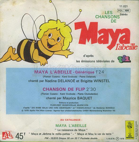 Maya L Abeille Par Nadine Delanoë Et Brigitte Winstel Fiche