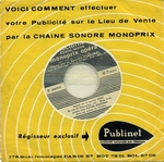 Campagne Monoprix 1960 - Couvre-pieds Rhovyl