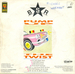 Le verso de la pochette : (Brussels Sound Revolution - Pump up the twist)
