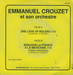 (Emmanuel Crouzet et son Orchestre - One love of Bolero)