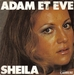 Une pochette alternative : (Sheila - Adam et Ève)