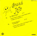 Le verso de la pochette : (Grand Jojo - La (New) Beat)