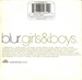 Verso : (Blur - Girls & boys)