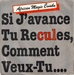 Une pochette alternative (merci à frvi) : (The African Magic Combo - Si j'avance toi tu recules comment veux-tu…)