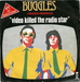 Autre pochette (Buggles - Video Killed the Radio Star)