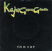 Une pochette alternative : (Kajagoogoo - Too Shy)