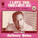Pochette (réédition) (Anthony Quinn - I love you, you love me)