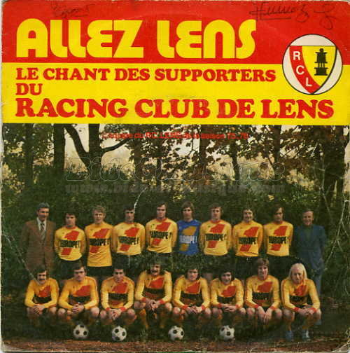 Supporters' club lensois - Allez Lens (le chant des supporters)