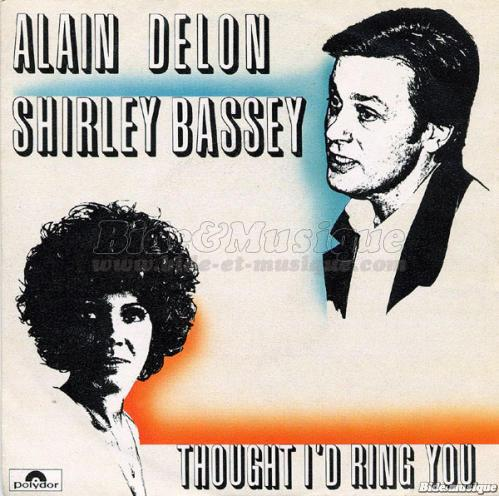 Shirley Bassey et Alain Delon - Thought I'd ring you