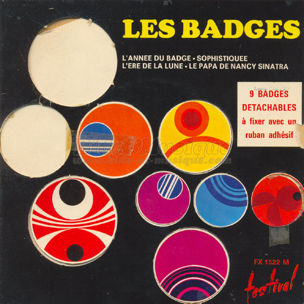 Les badges - L'ann�e du badge