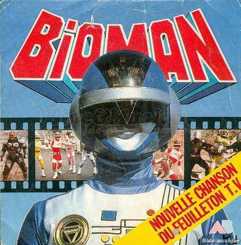 Bernard Minet - Bioman