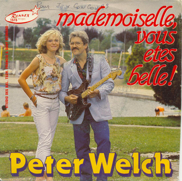 Peter Welch - Mademoiselle, vous êtes belle