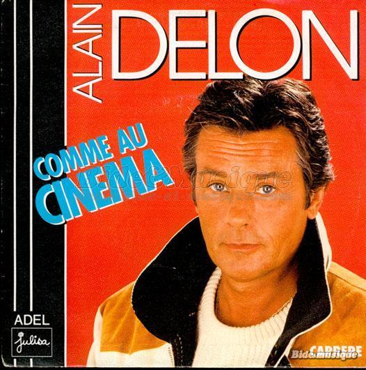Alain Delon - Comme au cinéma