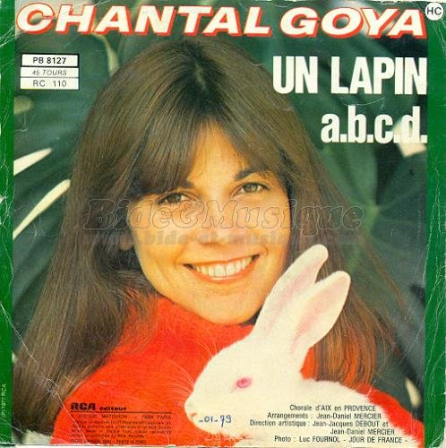 Chantal Goya - Un lapin
