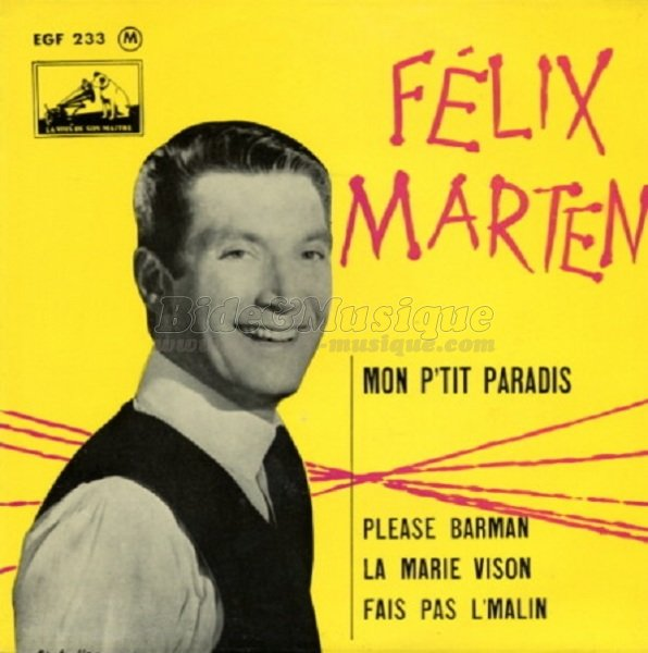 Félix Marten - Please barman