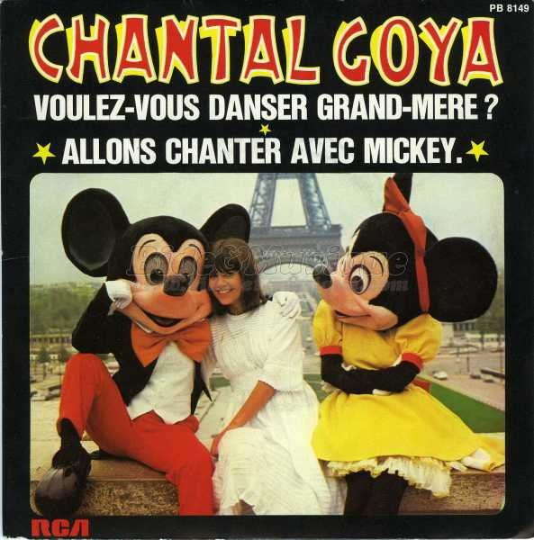 Chantal Goya - Allons chanter avec Mickey