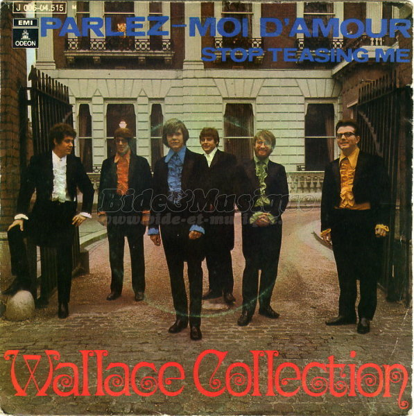 Wallace collection - Parlez-moi d'amour