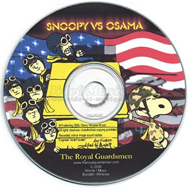 The Royal Guardsmen - Snoopy vs Osama