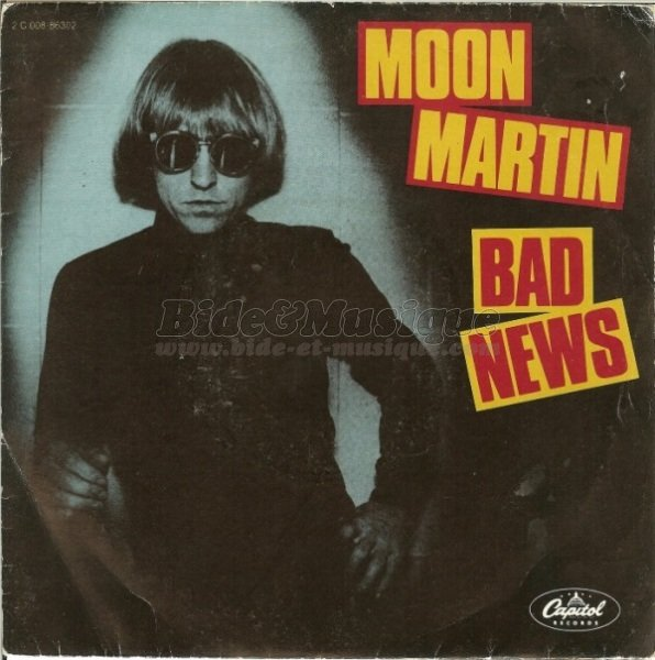 Moon Martin - Bad news