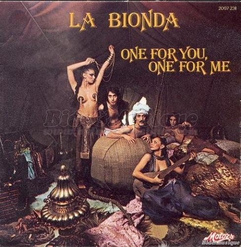 La Bionda - There for me