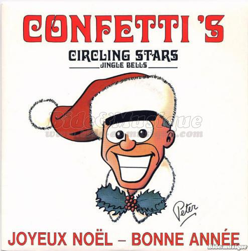 Confetti's - Circling stars (jingle bells)