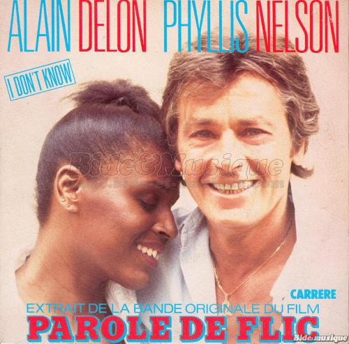 Alain Delon et Phyllis Nelson - I don't know