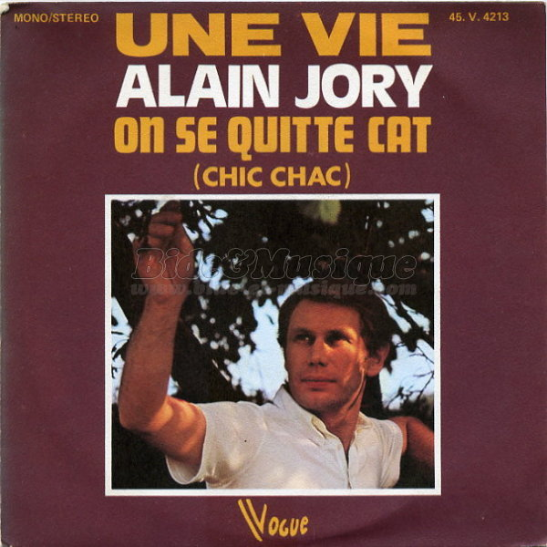 Alain Jory - On se quitte Cat