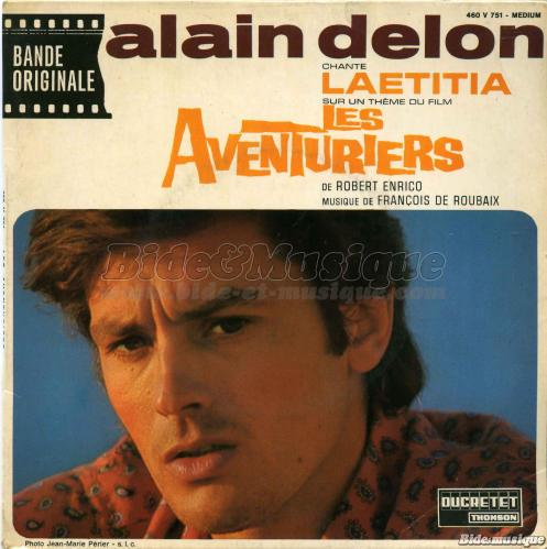 Alain Delon - Laetitia