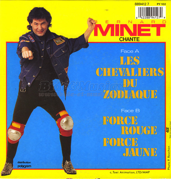 Bernard Minet - Force rouge, force jaune