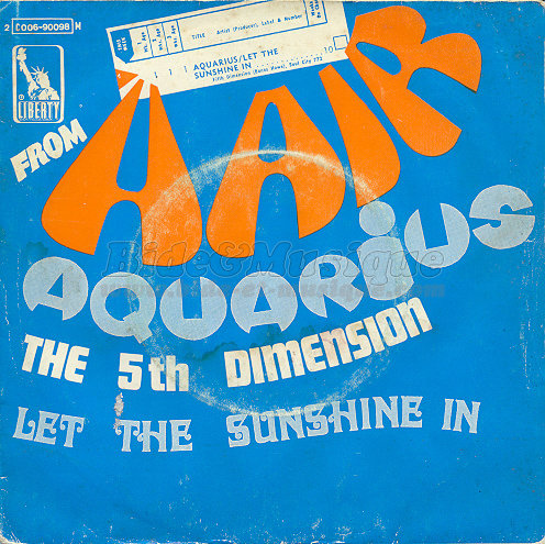 The 5th dimension - Medley Aquarius / Let the sunshine in