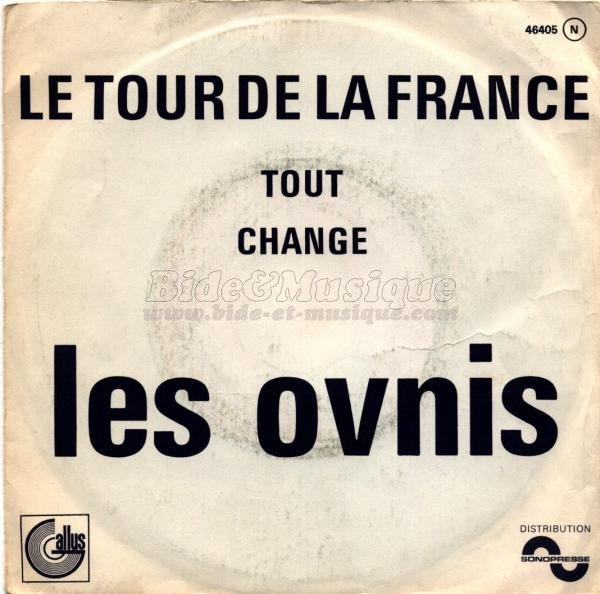 Les Ovnis - Le tour de la France