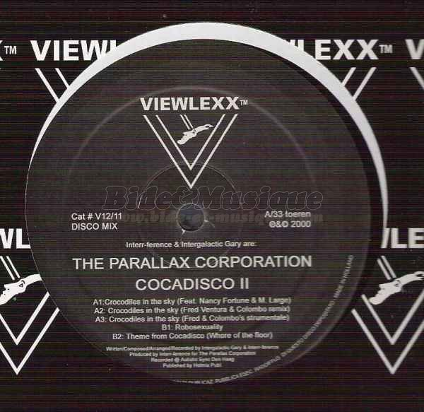 The Parallax Corporation - Crocodiles in the sky (Fred Ventura & Colombo Remix)