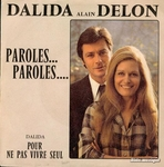 Dalida et Alain Delon - Paroles… Paroles…