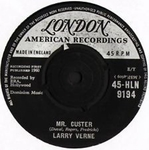 Larry Verne - Mr Custer