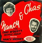 Nancy and Chas with the Charles McDevitt Skiffle Group - Freight train