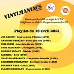 Vinylmaniacs - Emission n°162 (15 avril 2021)