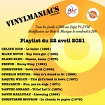 Vinylmaniacs - Emission n°163 (22 avril 2021)