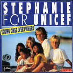 Stéphanie for Unicef - Young ones everywhere