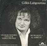 Gilles Langoureau - Un jour viendra couleur vodka orange
