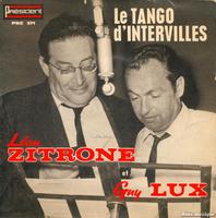 Tango Le Lux Et ZitroneFiche D'intervillespar Léon Chanson Guy CBosQdhrxt