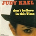 Pochette de Judy Kael - Don't believe in this time