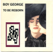 Pochette de Boy George - To be reborn