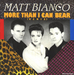 Vignette de Matt Bianco - More than I can bear