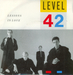 Pochette de Level 42 - Lessons in love